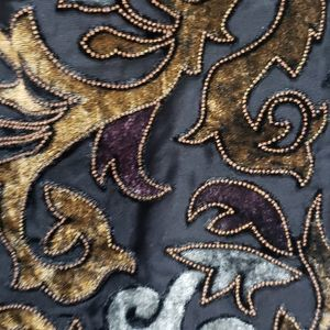 NEW Velvet Burnout Sheer Curtain Panels